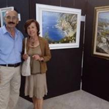 Salvatore DI PALMA con DORA ROSARIA - ARTISTA